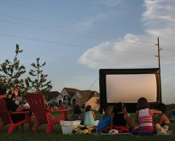 Movie Night Under the Stars 2013